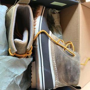 1a27bdfd5895 Eddie Bauer Shoes - Eddie Bauer NEW hunt pac mid boot duck boot 8.5